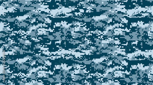 texture military camouflage repeats seamless special force print blue