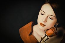 Portrait Of A Beautiful Girl I...