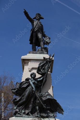 Fotografie, Obraz  General Rochambeau Statue