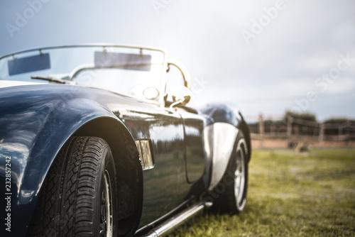 Photo sur Toile Vintage voitures Beautiful classic vintage sport car