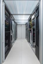 Corridor Of Data Processing Service Center Environmental Control