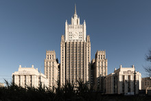 Russia Moscow. Ministry Of For...