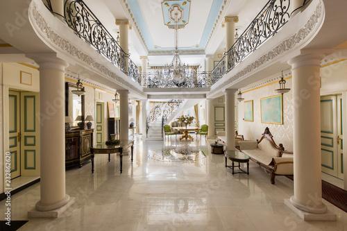Fototapeta luxury lobby interior