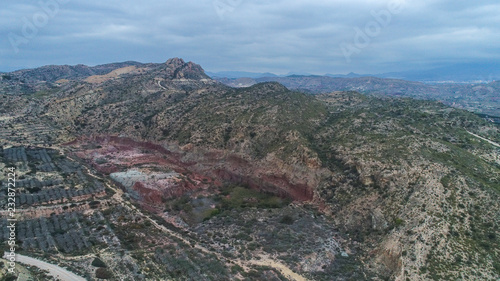 Roks and mountains from drone wives