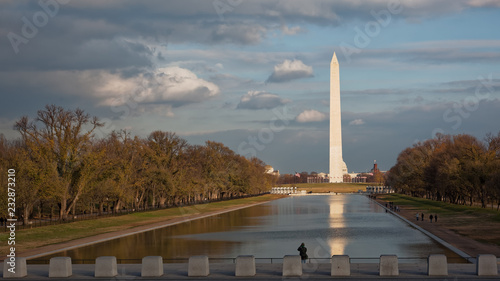 Cadres-photo bureau Buenos Aires Mirror Pool, Washington DC, US