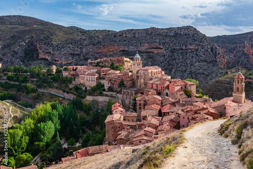 Panoramic view of Albarracin