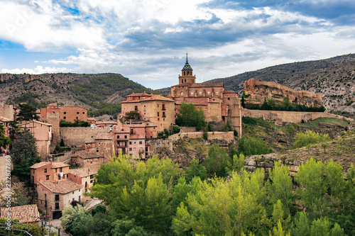Photo Stands Europa panoramic view of Albarracin