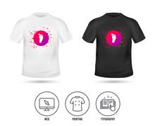 T-shirt Mock Up Template. Chil...