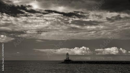 Fototapety, obrazy: lighthouse at sunset