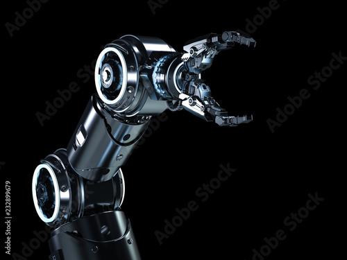 Modern robotic arm Fototapete