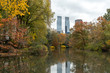 New York City Central Park autumn foliage