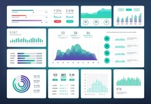 Infographic Dashboard Template...