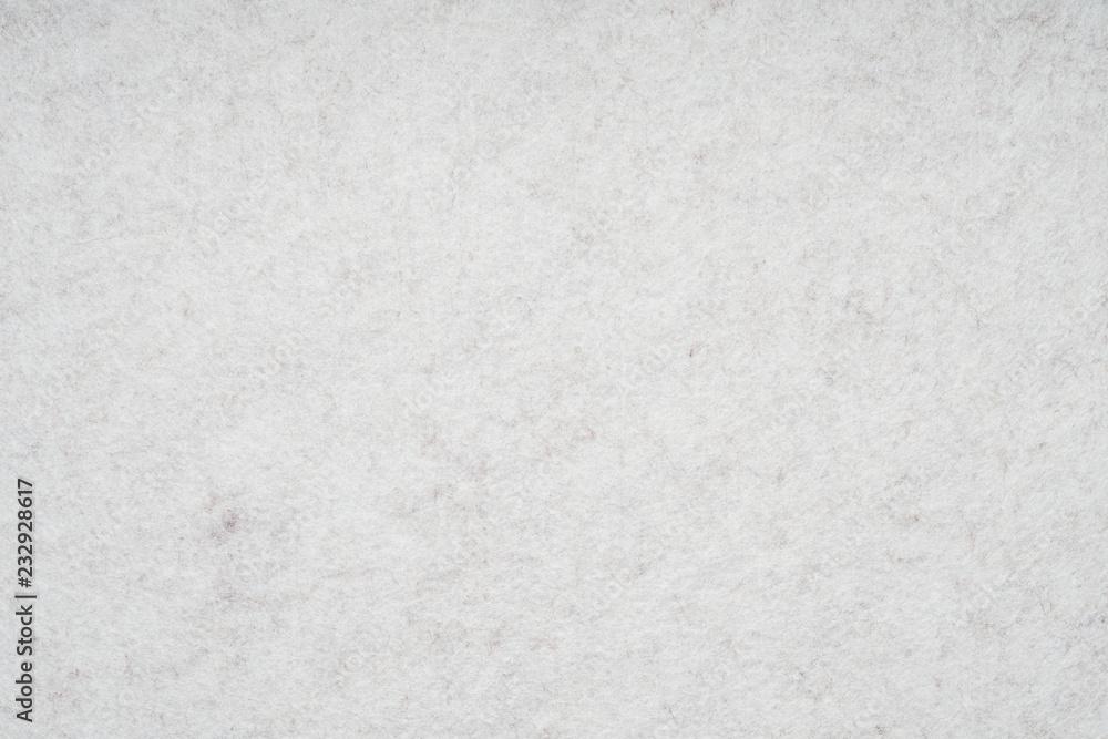 Fototapety, obrazy: light gray or off-white felt background with fiber texture