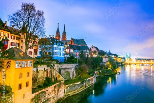 Fotografie, Obraz  Basel, Swizterland - Munster Cathedral