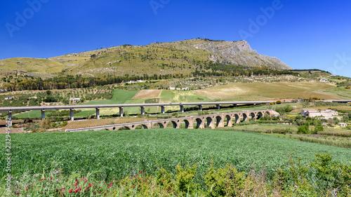 view of Sicily landscape
