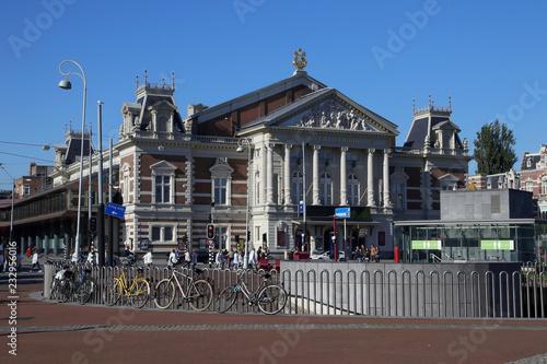 konzertgebäude am museumsplatz in amsterdam