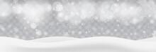 Heavy Snowfall, Snowflakes In ...