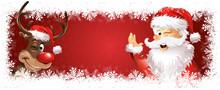 Rudolph Und Weihnachtsmann