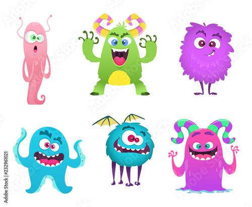 Monsters mascot фототапет