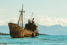 The Famous Shipwreck Near Gyth...