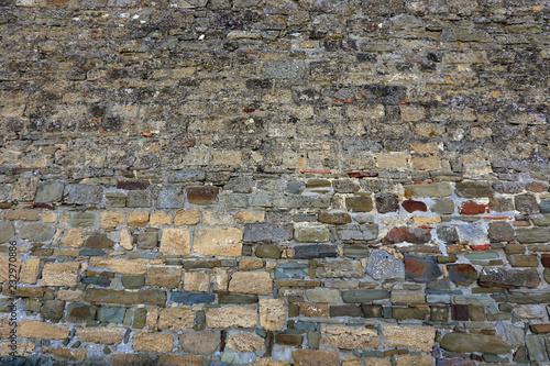Foto op Aluminium Wand texture of the stone wall