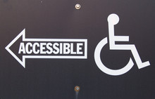Handicapped Accessible Sign. B...