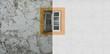 canvas print picture - Fassadensanierung, Fassadenrenovierung, Fenstersanierung, Fassadensanierung, Neuer Anstrich Mauerwerk