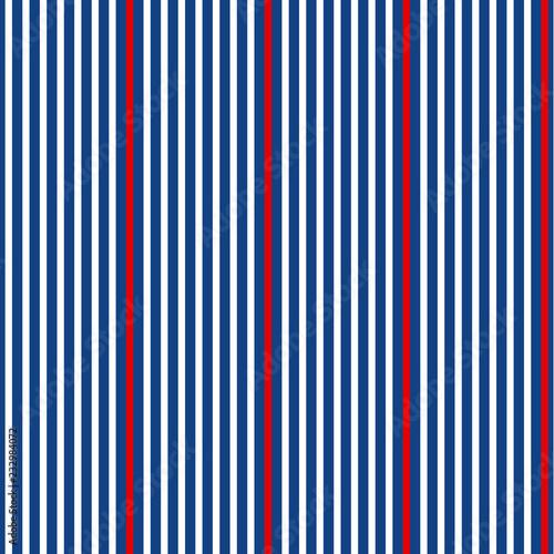 Fototapeta Classic simple stripes seamless pattern.