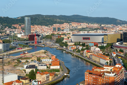 Photo Bilbao from Kobetamendi, Basque Country, Spain