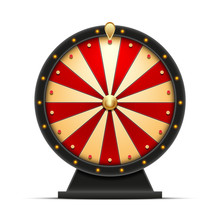 Wheel Of Fortune 3d Object Iso...