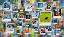 Photography And Image Sharing Concept On Internet