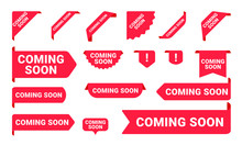 Coming Soon Promo Banners, Sti...