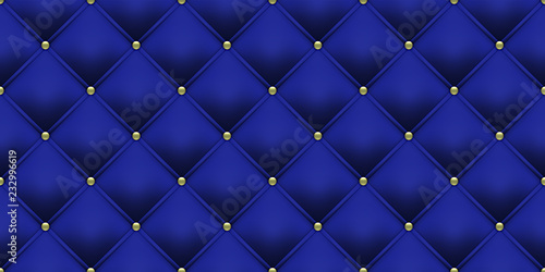 Foto  Royal blue background with gold buttons
