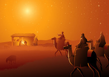 Three Wise Men Arrives