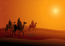 Three Wise Men, Journey To Bethlehem