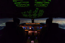 Two Pilots Are Flying The Airp...