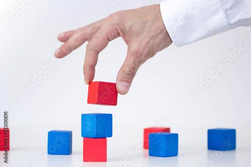 Valokuva  mano, gioco, impresa, costruire,