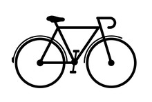 Bicycle Vector Sign