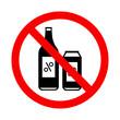 znak zakaz spożywania alkoholu