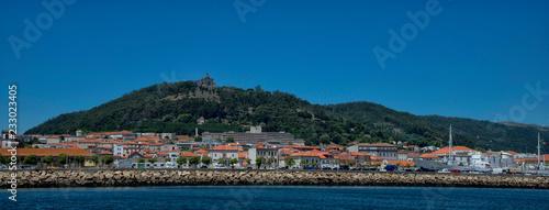 Vue panoramique de Viana do Castelo, Minho, Portugal Canvas-taulu