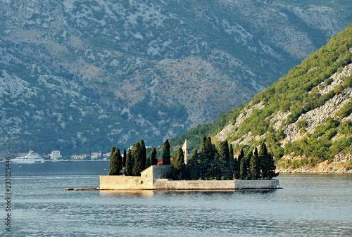 Boko-Kotor Bay in Montenegro.