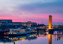 Sunrise Over Downtown Sacramento