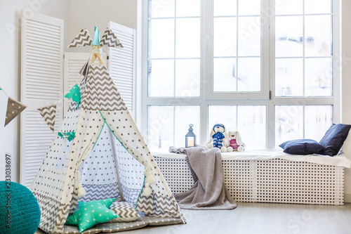 Obraz na płótnie Stylish modern children room
