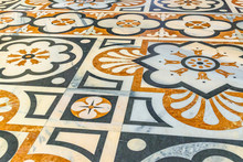 Decorated Mosaic Floor Detail