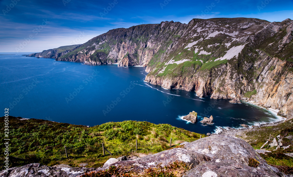 Fototapety, obrazy: Slieve League Cliffs, County Donegal