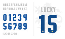 Uniform Letters And Numbers Fo...