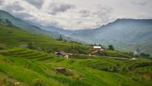 Montañas De Sa Pa En Vietnam