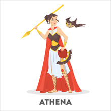 Athena Greek Goddess From Anci...
