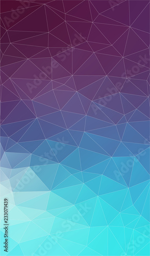 Vertical Flat Background with geometric triangle shapes.