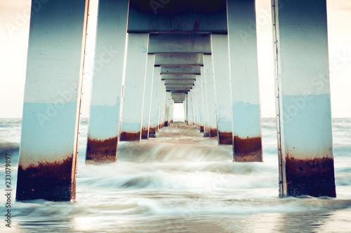 Fotografia, Obraz Pier Fort Myers Beach, Florida